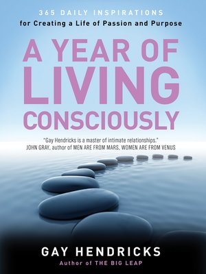 cover image of A Year of Living Consciously