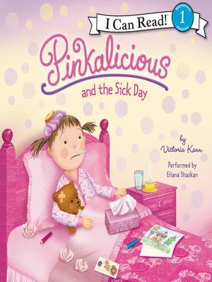 cover image of Pinkalicious and the Sick Day