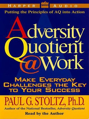 cover image of The Adversity Quotient @ Work