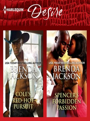 cover image of Cole's Red-Hot Pursuit & Spencer's Forbidden Passion