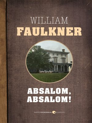 cover image of Absalom, Absalom!
