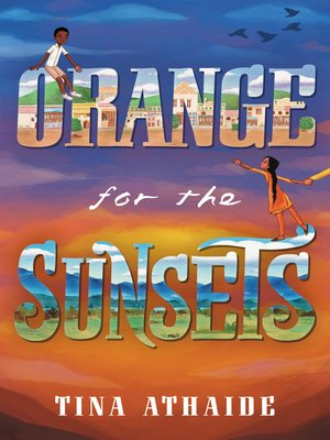 cover image of Orange for the Sunsets