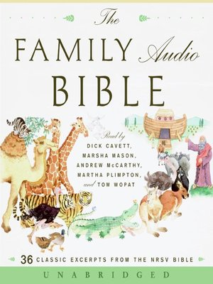 cover image of The Family Audio Bible