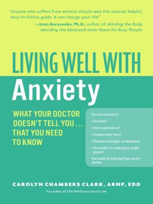 cover image of Living Well with Anxiety