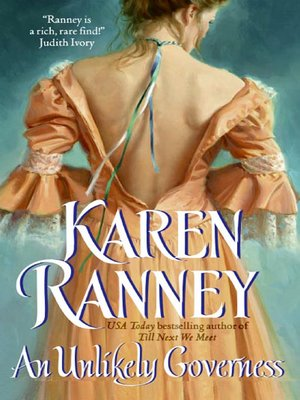 cover image of An Unlikely Governess
