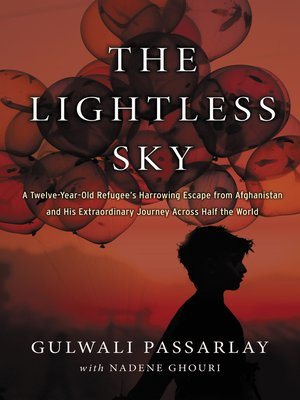 cover image of The Lightless Sky