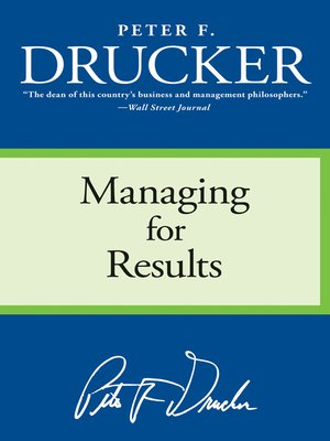 cover image of Managing for Results
