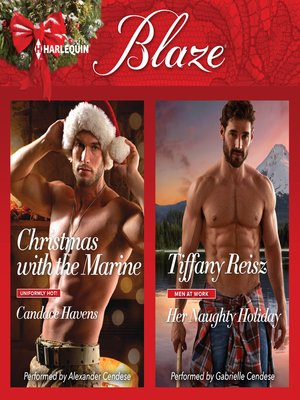 cover image of Christmas with the Marine & Her Naughty Holiday
