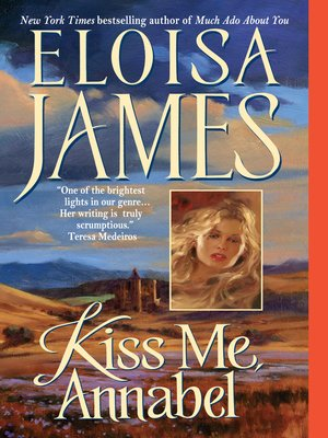 cover image of Kiss Me, Annabel