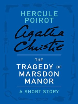 cover image of The Tragedy of Marsdon Manor