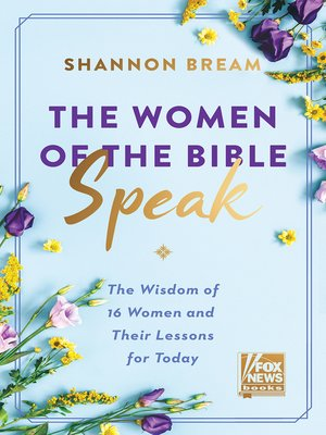 cover image of The Women of the Bible Speak