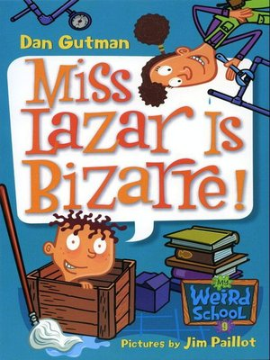 cover image of Miss Lazar Is Bizarre!