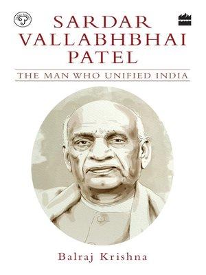 cover image of Sardar Vallabhbhai Patel