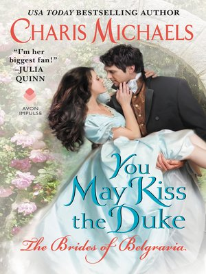 cover image of You May Kiss the Duke
