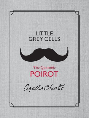 cover image of Little Grey Cells