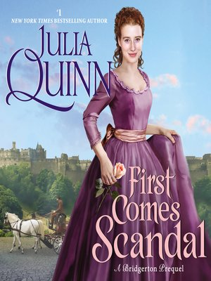 cover image of First Comes Scandal