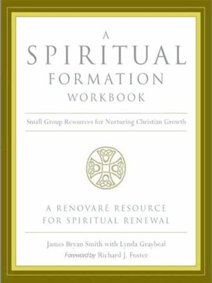 cover image of A Spiritual Formation Workbook
