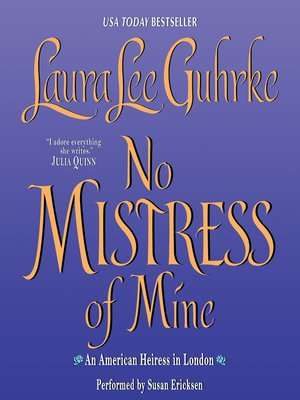 cover image of No Mistress of Mine