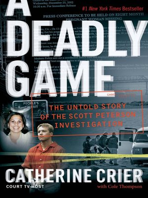 cover image of A Deadly Game
