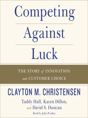 cover image of Competing Against Luck