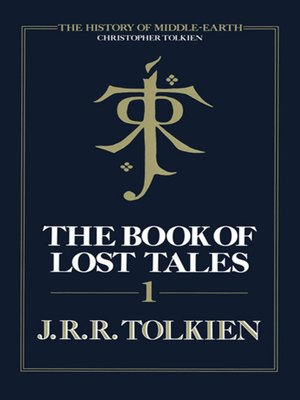 cover image of The Book of Lost Tales, Part 1