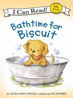 cover image of Bathtime for Biscuit