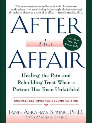 cover image of After the Affair