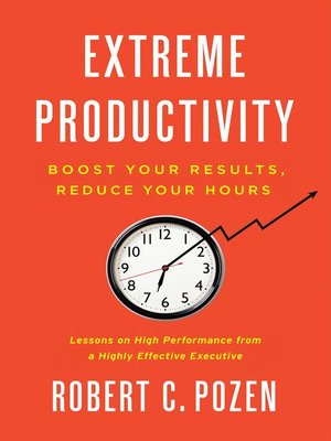 cover image of Extreme Productivity