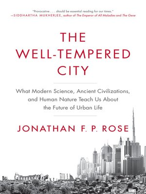 cover image of The Well-Tempered City