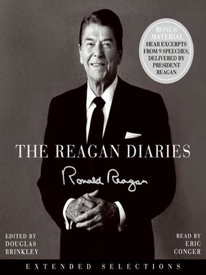 cover image of The Reagan Diaries Extended Selections