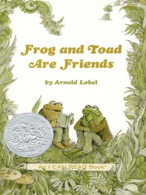 cover image of Frog and Toad Are Friends