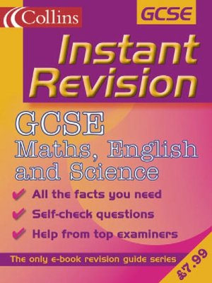 cover image of Instant Revision: GCSE Maths, English and Science