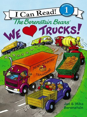 cover image of We Love Trucks!