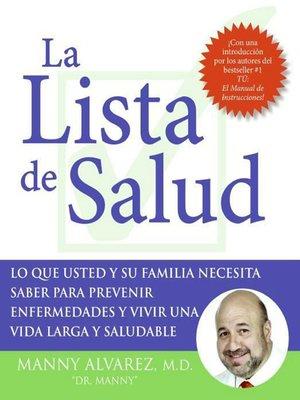 cover image of La Lista de Salud