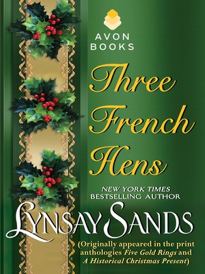 cover image of Three French Hens