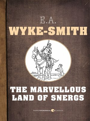 cover image of The Marvellous Land of Snergs