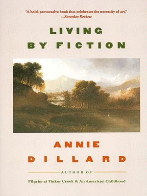 cover image of Living by Fiction