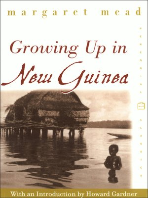 cover image of Growing Up in New Guinea