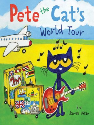 cover image of Pete the Cat's World Tour