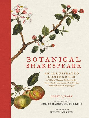 cover image of Botanical Shakespeare