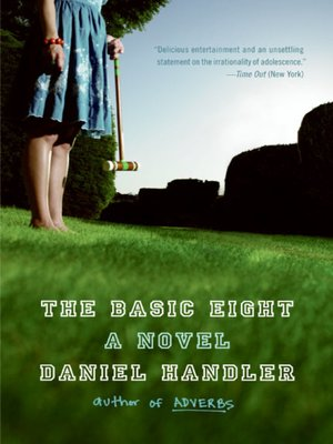 Ebook The Basic Eight By Daniel Handler