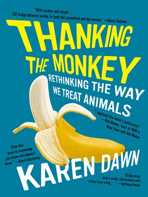 cover image of Thanking the Monkey
