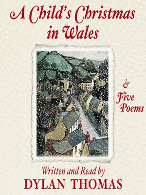 cover image of A Child's Christmas in Wales and Five Poems