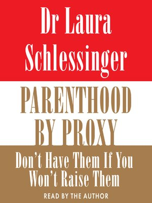 cover image of Parenthood by Proxy