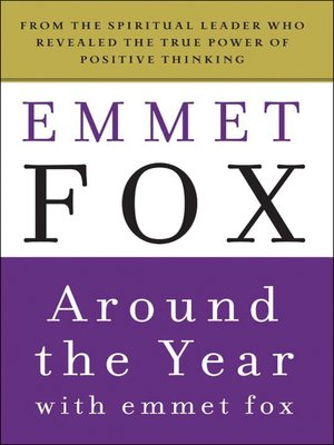 cover image of Around the Year with Emmet Fox