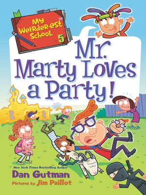 cover image of Mr. Marty Loves a Party!