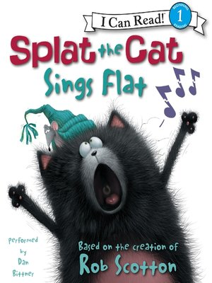 cover image of Splat the Cat Sings Flat