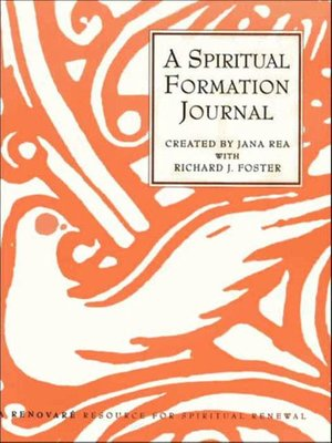 cover image of A Spiritual Formation Journal