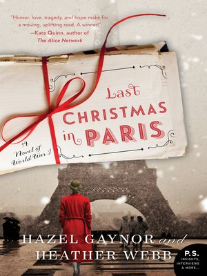 cover image of Last Christmas in Paris