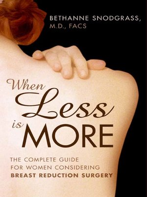 cover image of When Less Is More